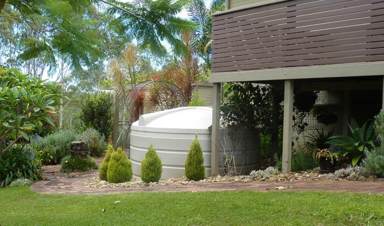 9,000 Litre Round Drinking Water Tank