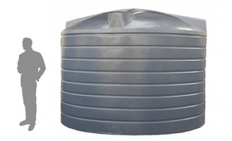 22,700 Litre / 5,000 Gallon Round Poly Water Storage Tank