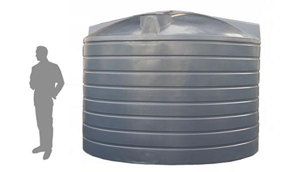 R22700 Litre / 5000 Gallon Upright Rainwater Tank | Duraplas