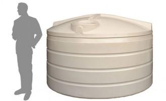 4,100 Litre (4,000 Litre) / 900 Gallon Round Poly Water Storage Tank