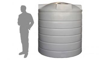4,500 Litre / 1,000 Gallon Round Poly Water Storage Tank