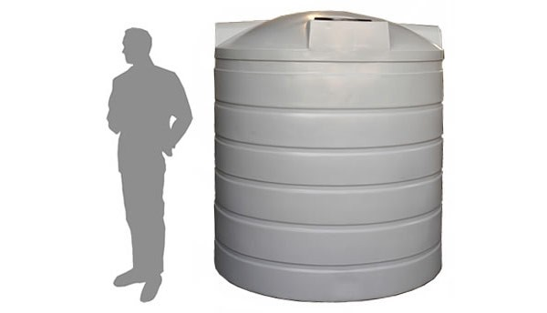 Litre Gallon Round Poly Water Storage Tank X