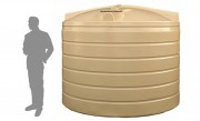 9,000 Litre / 2,000 Gallon Round Poly Water Storage Tank