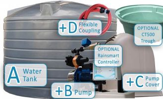 Rural-R22700-Litre-5000-gallon-Tank-Package-with-pump
