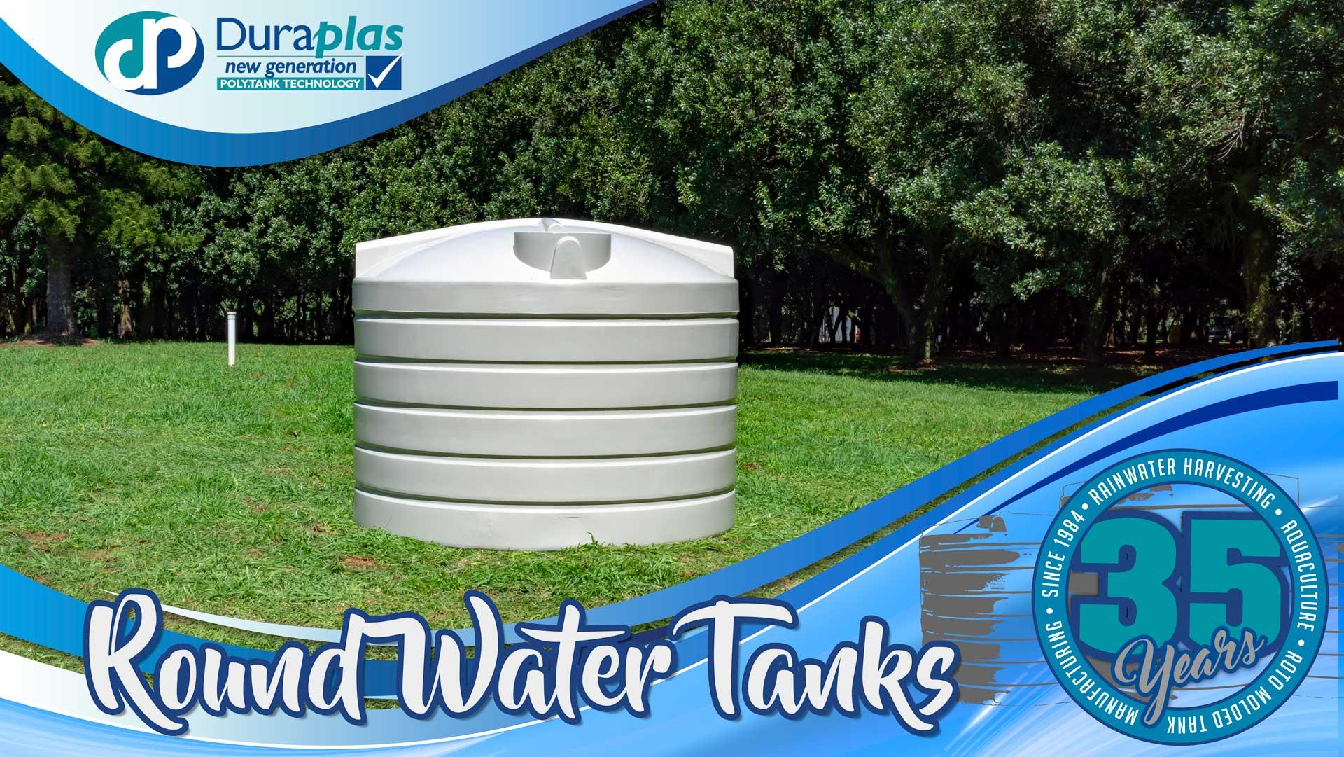 Duraplas Round Poly Water Tanks