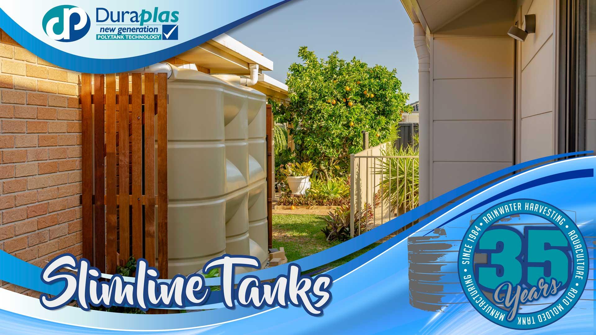 Duraplas Slimline Water Tanks