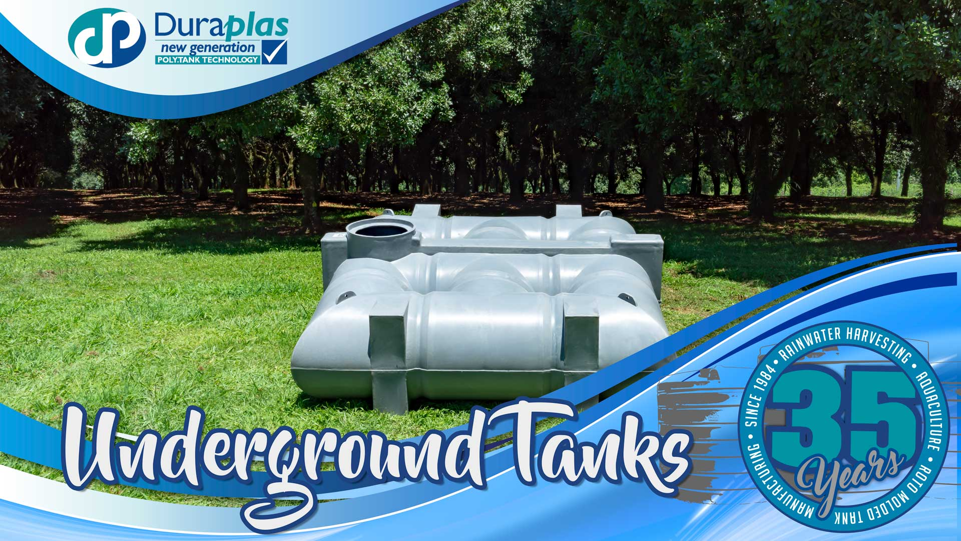 Duraplas Underground Water Tanks